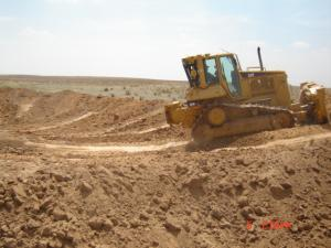 Dozer on Site 1